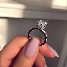 <b>Classic</b> Promise <b>ring</b> 925 Sterling silver Pear cut AAAAA cz ...