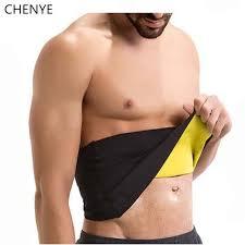 Online Shop <b>Men's</b> Compression Body Shaper Belt <b>new</b> neoprene ...