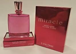 <b>Miracle Ultra Pink</b> Limited Edition <b>Lancome</b> 1.7oz Eau de Parfum ...