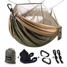 <b>Double</b> & Single <b>Portable Camping Hammock</b> - Parachute ...