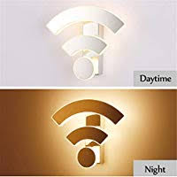 Creative <b>Acrylic</b> WiFi <b>Wall</b> Light Sconce Wand lamp Modern ...