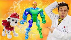 Доктор Ой на канале Мегаклиника! Игры <b>в</b> больницу для игрушек ...