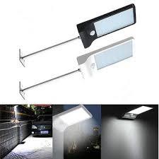 waterproof <b>36 led outdoor solar</b> powered pir motion sensor security ...