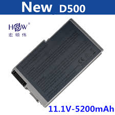 <b>HSW new Laptop Battery</b> for Dell 510 600m battery D500 D505 ...