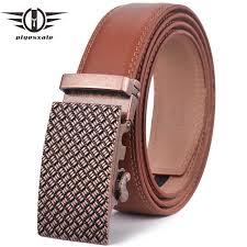 <b>Plyesxale</b> Brown <b>Belt</b> Men 2018 Luxury <b>Brand</b> Automatic Buckle <b>Belt</b> ...