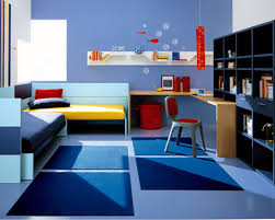 boys room with blue decoration theme captivating kids bedroom design with l shaped bunk bed blue themed boy kids bedroom
