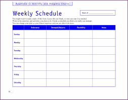 weekly timetable template sample templatex weekly timetable template