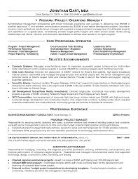 appealing it program manager resume sample displaying core appealing it program manager resume sample displaying core professional strengths and selected accomplishments