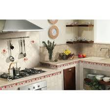 Serenissima <b>Cir Marble</b> style Inserto S/3 Travertino 2