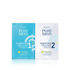 Скраб и очищающая <b>маска для лица</b> Pure Skin (32652) Маски ...