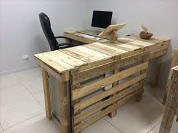 regained pallet office furniture build pallet furniture
