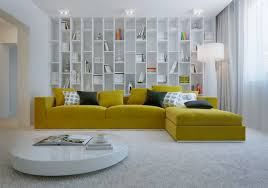 cool living room decoration with yellow sectional sofa cozy living room decorating ideas with l bright yellow sofa living