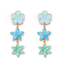 best top <b>elegant flower</b> drop earrings for <b>women</b> bijoux near me and ...
