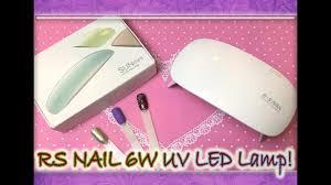 Обзор / Мини <b>Лампа</b> / RS NAIL <b>6W UV LED Lamp</b> / SUN mini ...