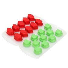 <b>Форма для льда</b> пластик/силикон, 15х8 см, 2 вида в магазинах ...