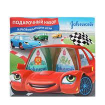 <b>Подарочный набор Johnson's</b> Шампунь-гель детский <b>2</b> в 1 для ...