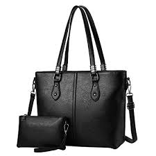 <b>Womens PU Leather</b> Handbags Large Capacity <b>Retro Vintage</b> Top ...