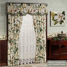 room curtains exotic garden images iii floral window treatments