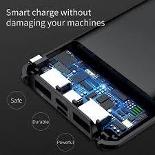 Внешний аккумулятор <b>Baseus</b> 10000 мАч Quick Charge 3,0 USB ...
