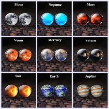 <b>Solar System</b> Planet Cufflinks Silver Color Men <b>Fashion</b> Wedding ...