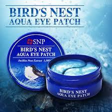 Маска для кожи вокруг глаз SNP Bird's Nest Aqua Eye <b>Patch</b> ...