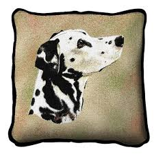 <b>dalmatian dog</b> tapestry cushion throw pillow cover design by Thierry ...
