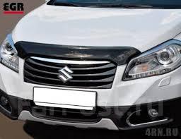 <b>Дефлектор капота темный EGR</b> Suzuki SX4 2014+ купить во ...
