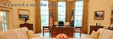 sit at the resolute desk in the oval office bush library oval office
