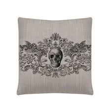 The Holiday Aisle <b>Gothic Square Pillow</b> Cover Color: Gray | <b>Square</b> ...