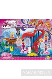 <b>Конструктор Cobi</b> Winx <b>Magic</b> Волшебная арфа 150 деталей ...
