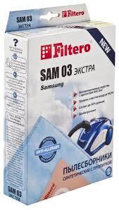<b>Filtero Мешки</b>-пылесборники SAM 03 Экстра — купить по ...