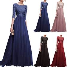 Women <b>Dress Elegant Backless</b> Prom Evening Party <b>Long Dress</b> ...