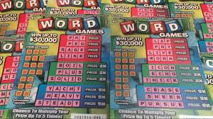 brand new scratcher word games 3 california lottery scratcher word games 3 california lottery scratcher