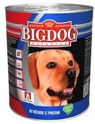 <b>Консервы Зоогурман Big</b> Dog Ягненок с рисом для собак - купить ...