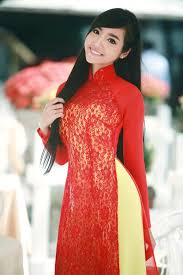 Áo dài của sao Việt