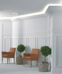 cornice molding and indirect lighting ceiling lighting options