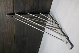 shelving metal shelves wall