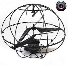 <b>Радиоуправляемый вертолет</b>-шар с камерой <b>HappyCow</b> Robotic ...