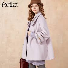 <b>Artka 2017 Autumn&Winter</b> Vintage Embroidery Wool Contained ...