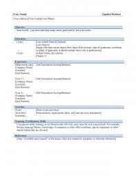 resume templates format s intended for blank resume format templates resume format s intended for blank resume template