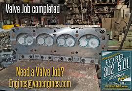 ford engine rebuild los angeles machine shop engine valve job
