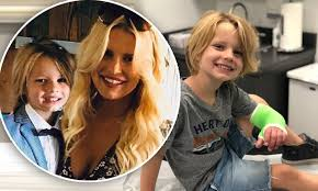 Jessica Simpson shares smiling shot of son Ace after he suffers his ...
