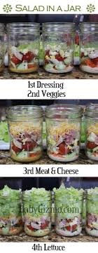 the link is for three pretty basic classic salad recipes but you make anything just following the rules dressing beautiful classic mason jar