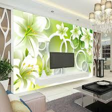 room elegant wallpaper bedroom: elegant lily photo wallpaper d flower wallpaper bedroom kid room decor club wedding decoration fashion design
