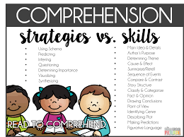 17 best ideas about reading comprehension skills instruction an interesting look at skills and strategies related to comprehension both of these lists could be used to influence one s instruction