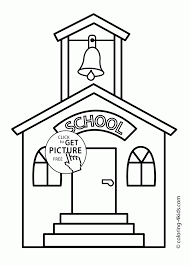 Small Picture School Coloring Page Beautiful 170