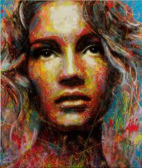 2008-2014 David Walker. Unknown Spray Paint on Canvas - David-Walker-Unknown-004