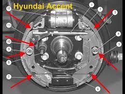 Hyundai Accent (хендай акцент) ЗАМЕНА <b>задних Колодок</b> ...