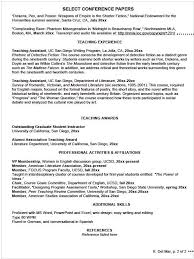 writing your curriculum vitae research resume template