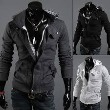 Men's <b>Fashion Slim</b> Hoodie Warm Hooded Sweatshirt Coat Pockets ...
